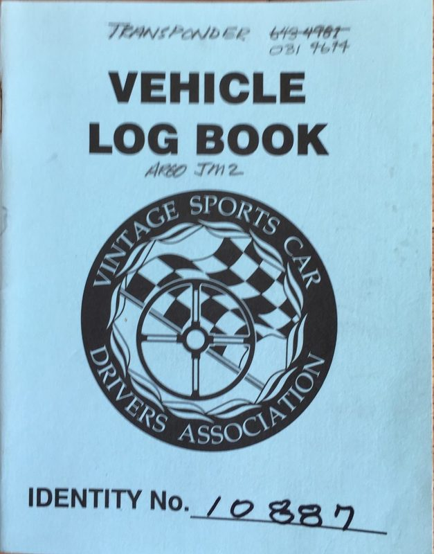 1978 ARGO JM-2-20 log book